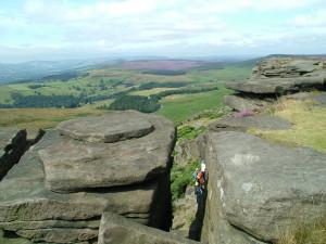 Climbers Froggatt edge