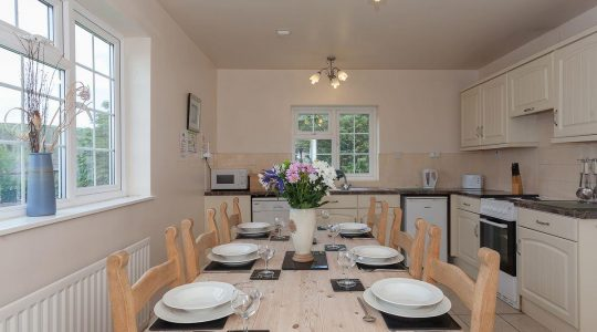 Ash Cottage 3 bedroom Double Kitchen Paddock House Farm Holiday Cottages